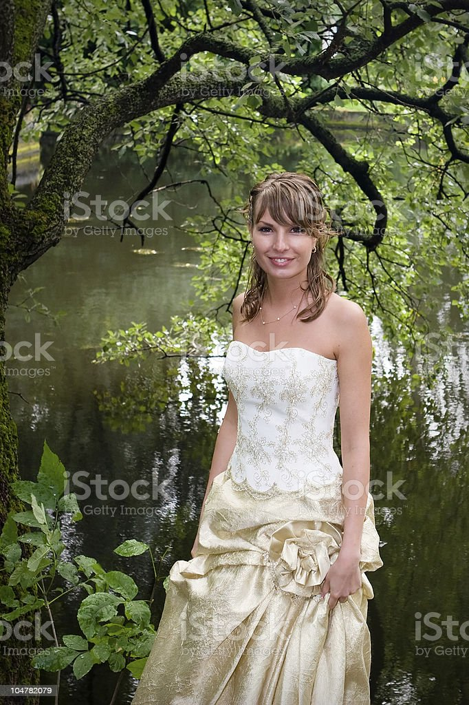 fiancee royalty-free stock photo