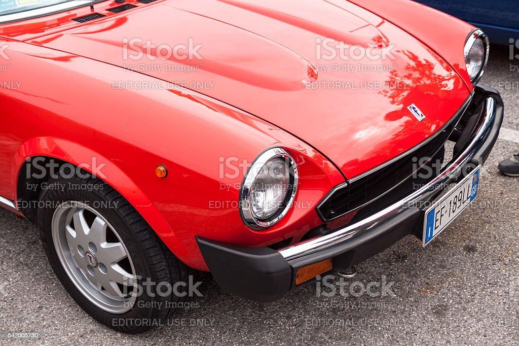 Fiat 124 stock photo
