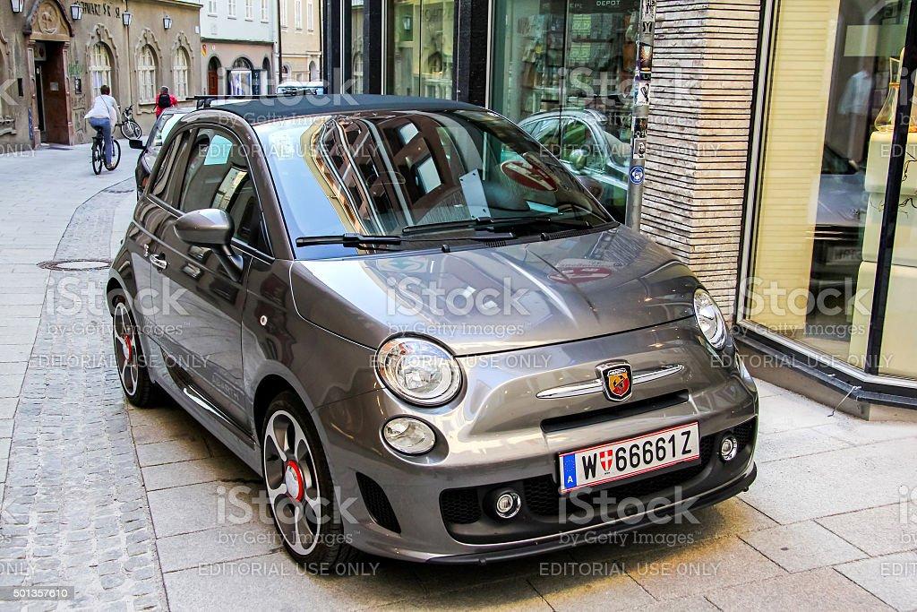 Fiat 500 Abart stock photo