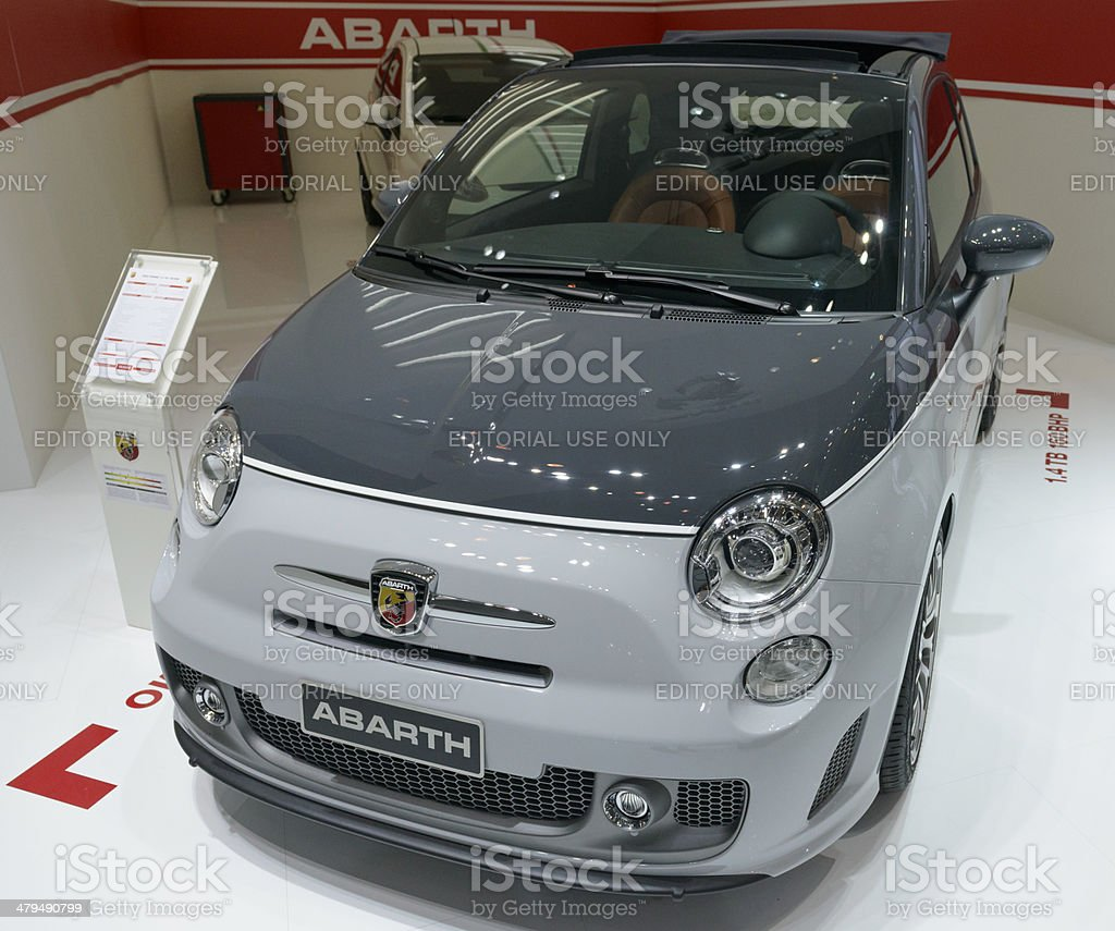 Fiat 500 Abarth royalty-free stock photo
