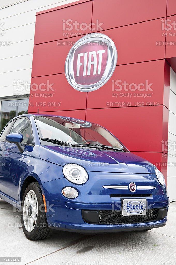 Fiat 500 City Car royalty-free stock photo
