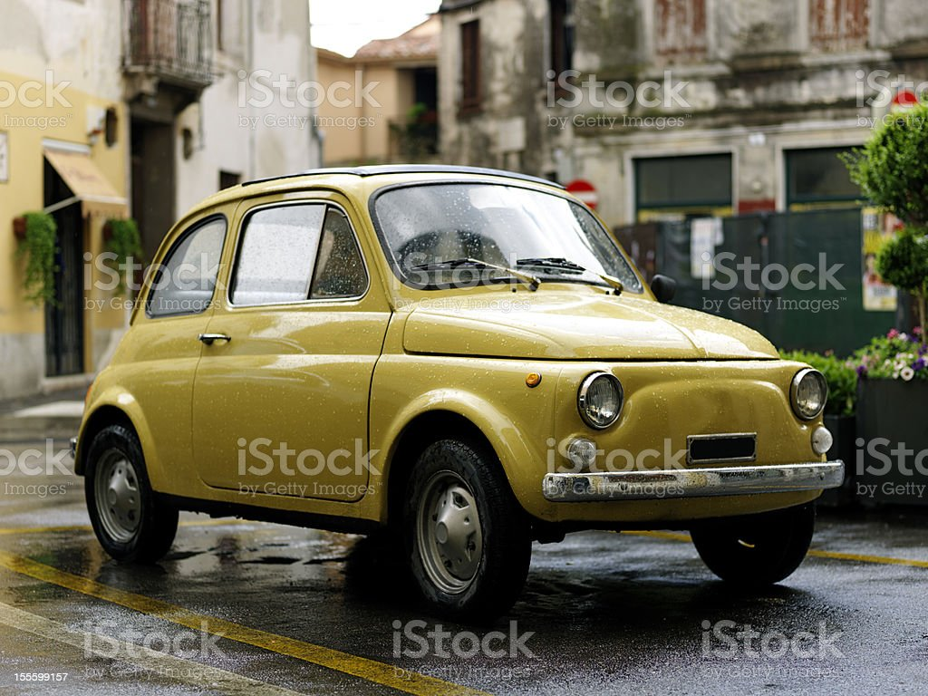 Fiat 500. Color Image stock photo