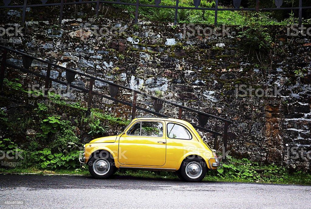 Fiat 500. Color Image stock photo