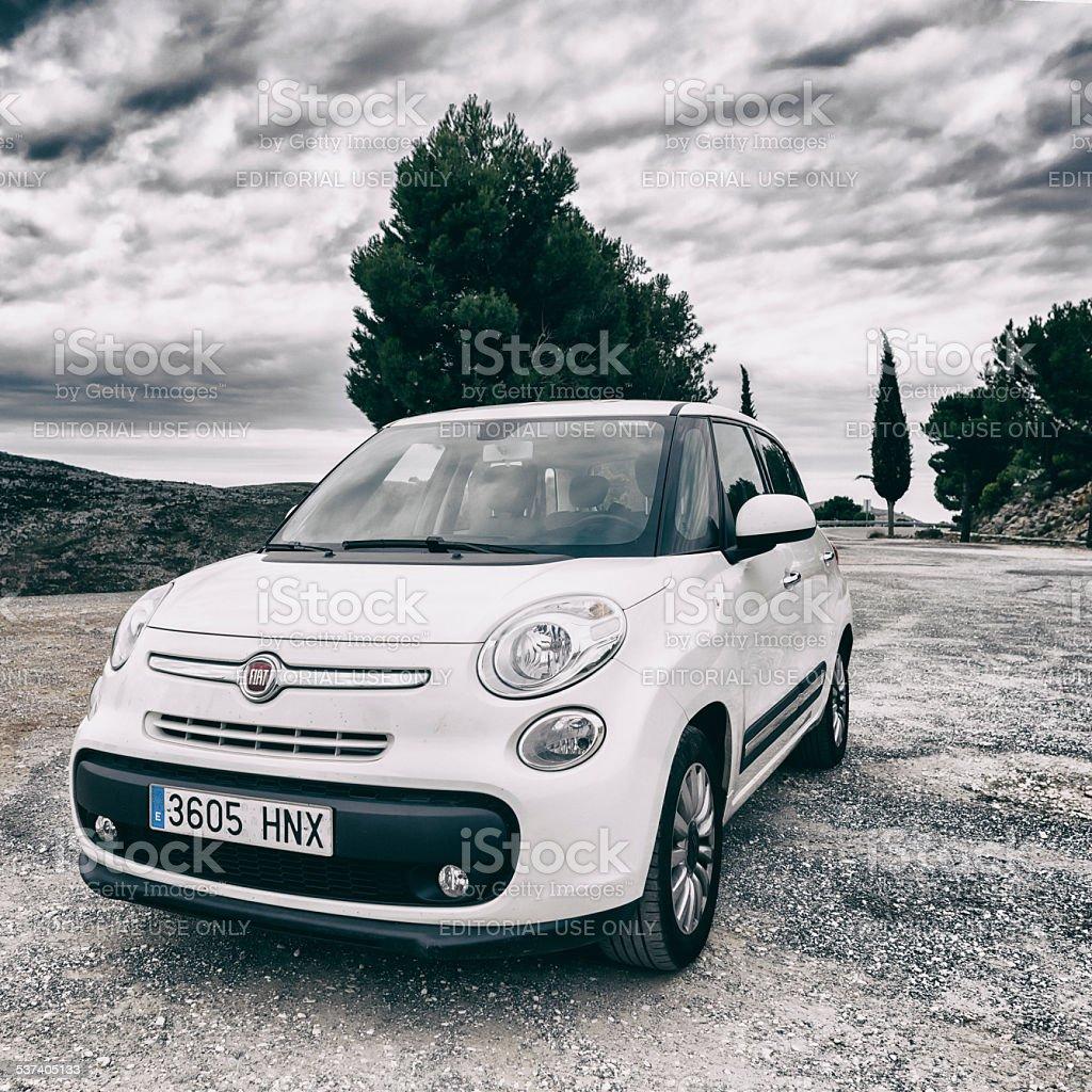 Fiat 500 L stock photo