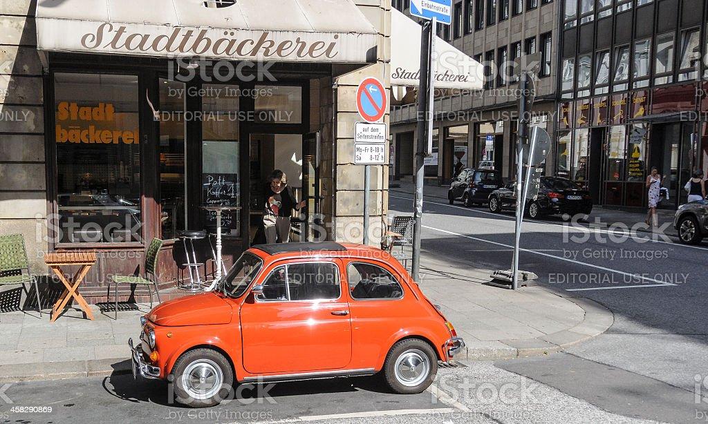 Fiat 500 royalty-free stock photo