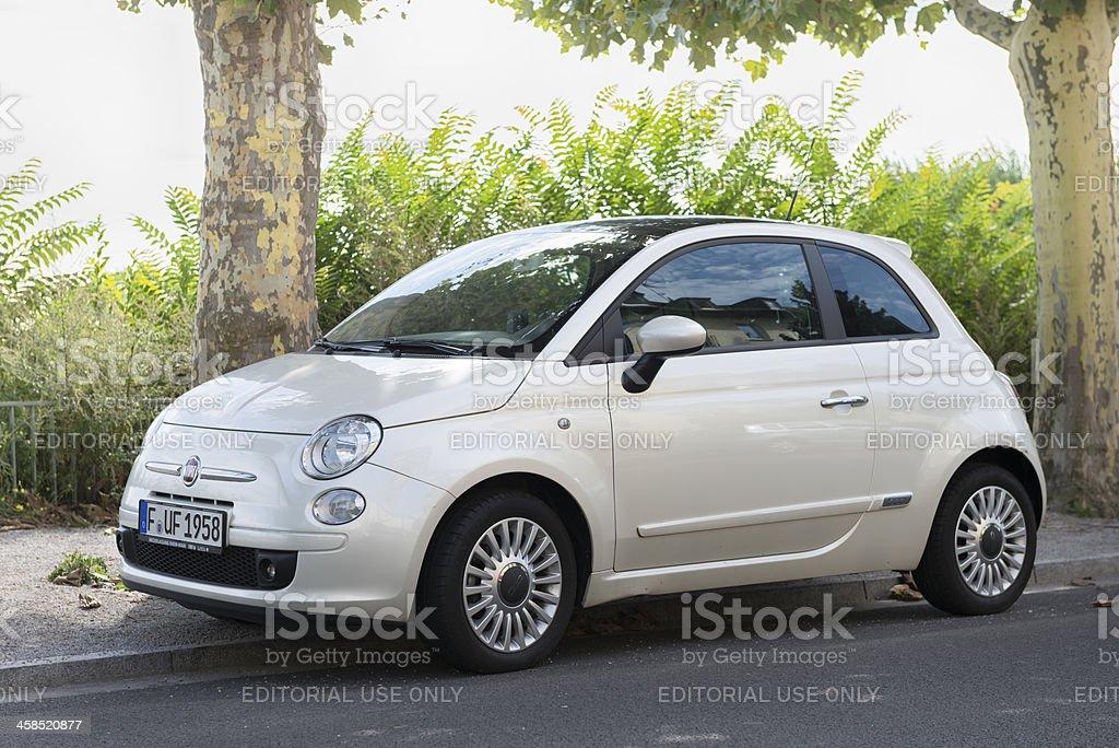 Fiat 500 (Cinquecento) royalty-free stock photo