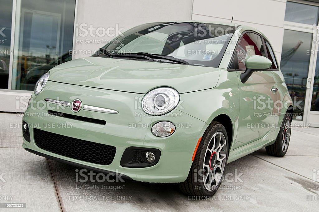 Fiat 500 Sport City Car stock photo