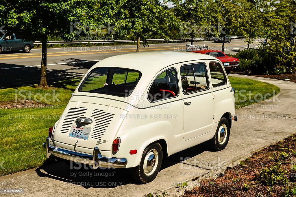 Fiat 600 Multipla stock photo