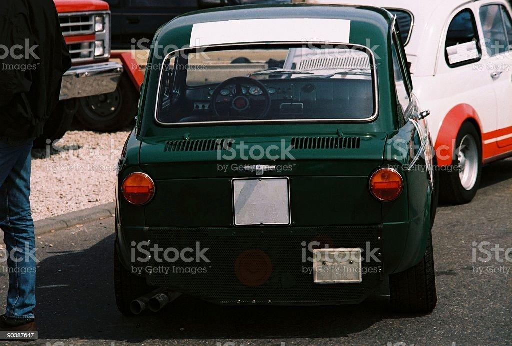 Fiat 850 Abarth stock photo