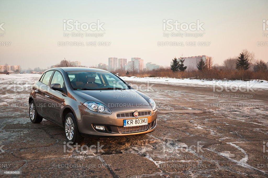 Fiat Bravo royalty-free stock photo