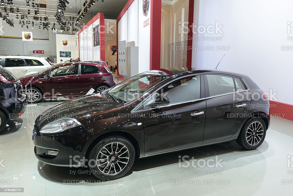 Fiat Grande Punto royalty-free stock photo