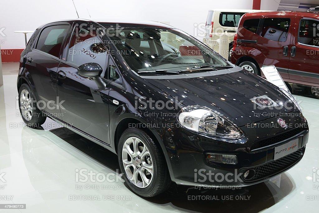 Fiat Grande Punto royalty-free stock photo