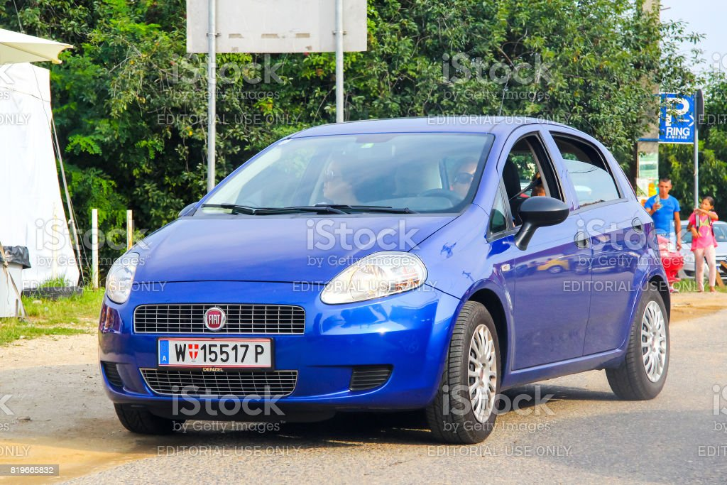 Fiat Grande Punto stock photo