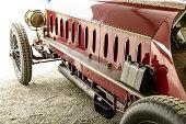 Fiat Isotta Fraschini classic speed record race car