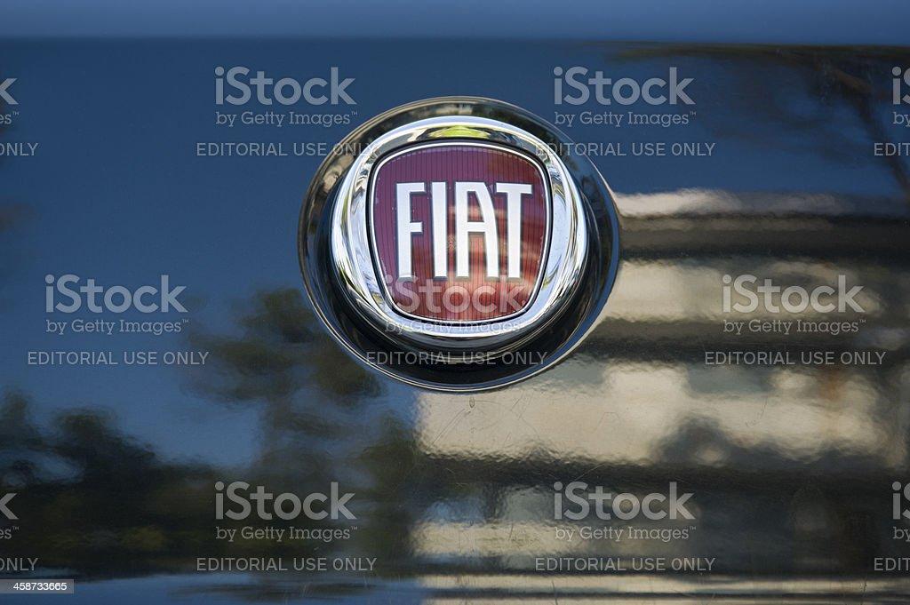 Fiat logo stock photo