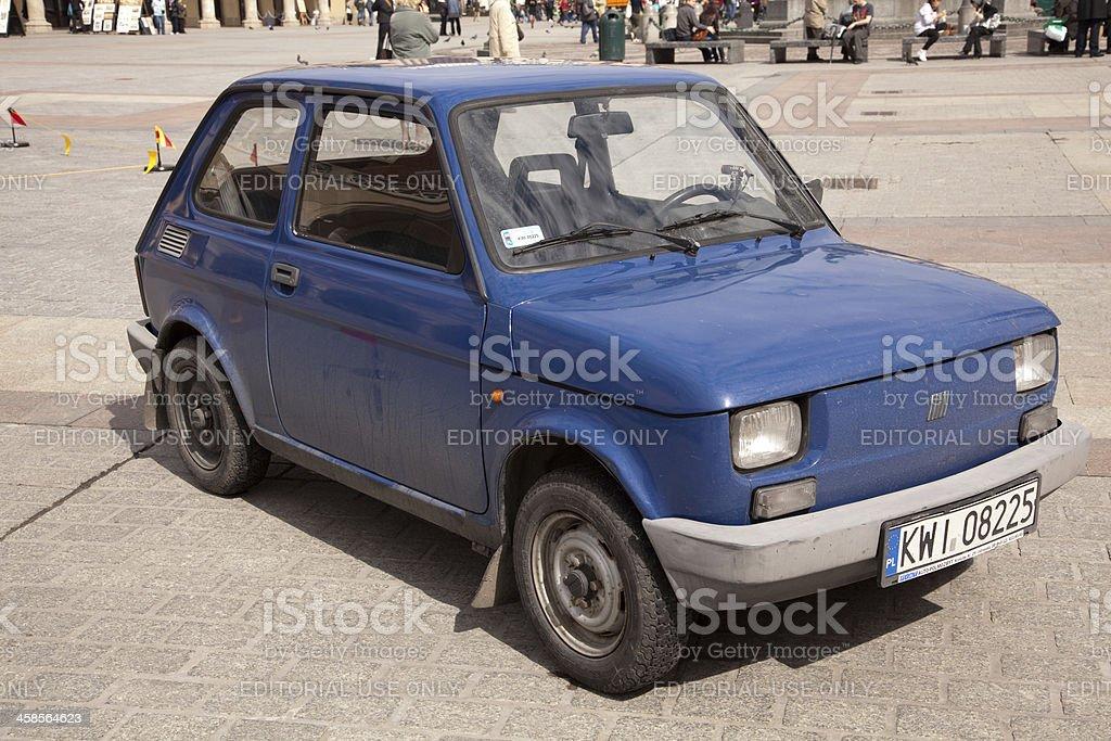 Fiat smallest car stock photo