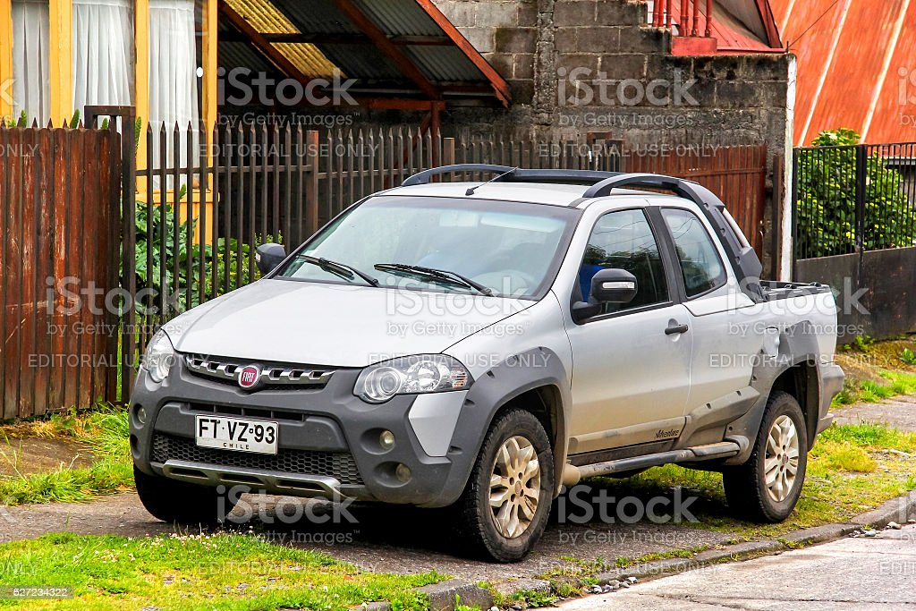 Fiat Strada Adventure stock photo