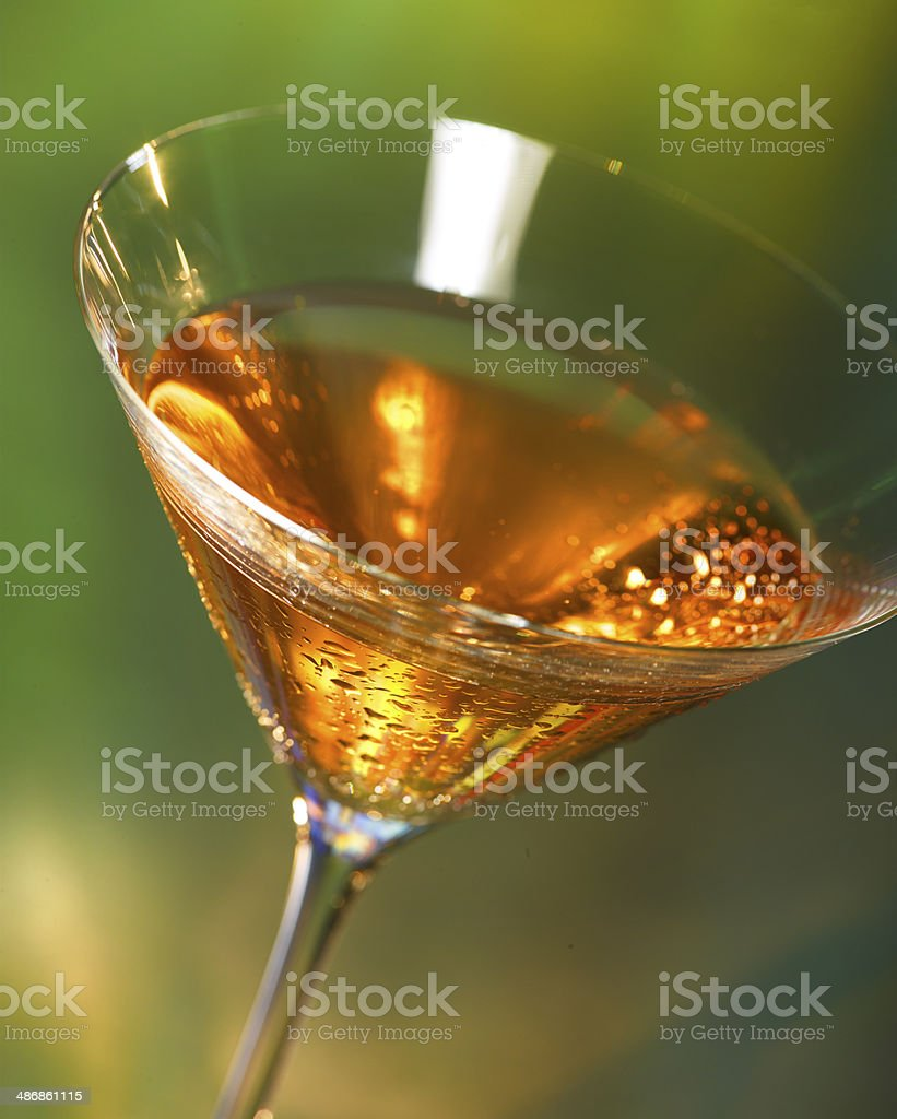 Fibber McGee Cocktail stock photo