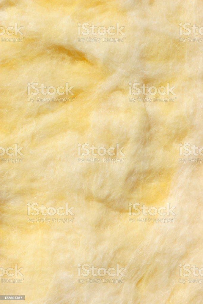 Fiber glass insulation texture stock photo