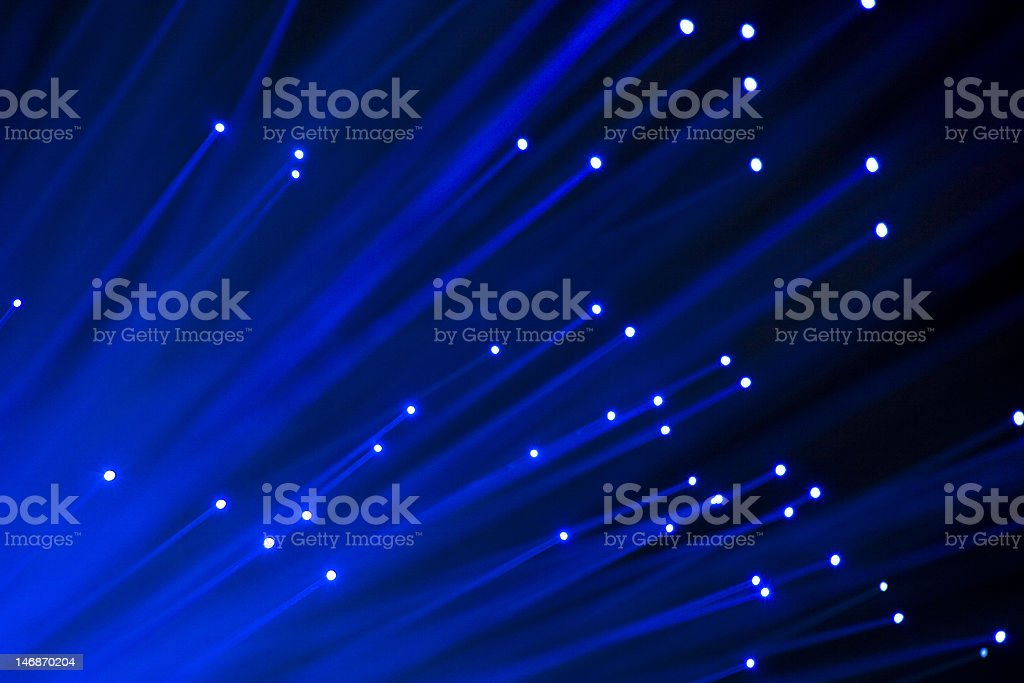 Fiber optic royalty-free stock photo