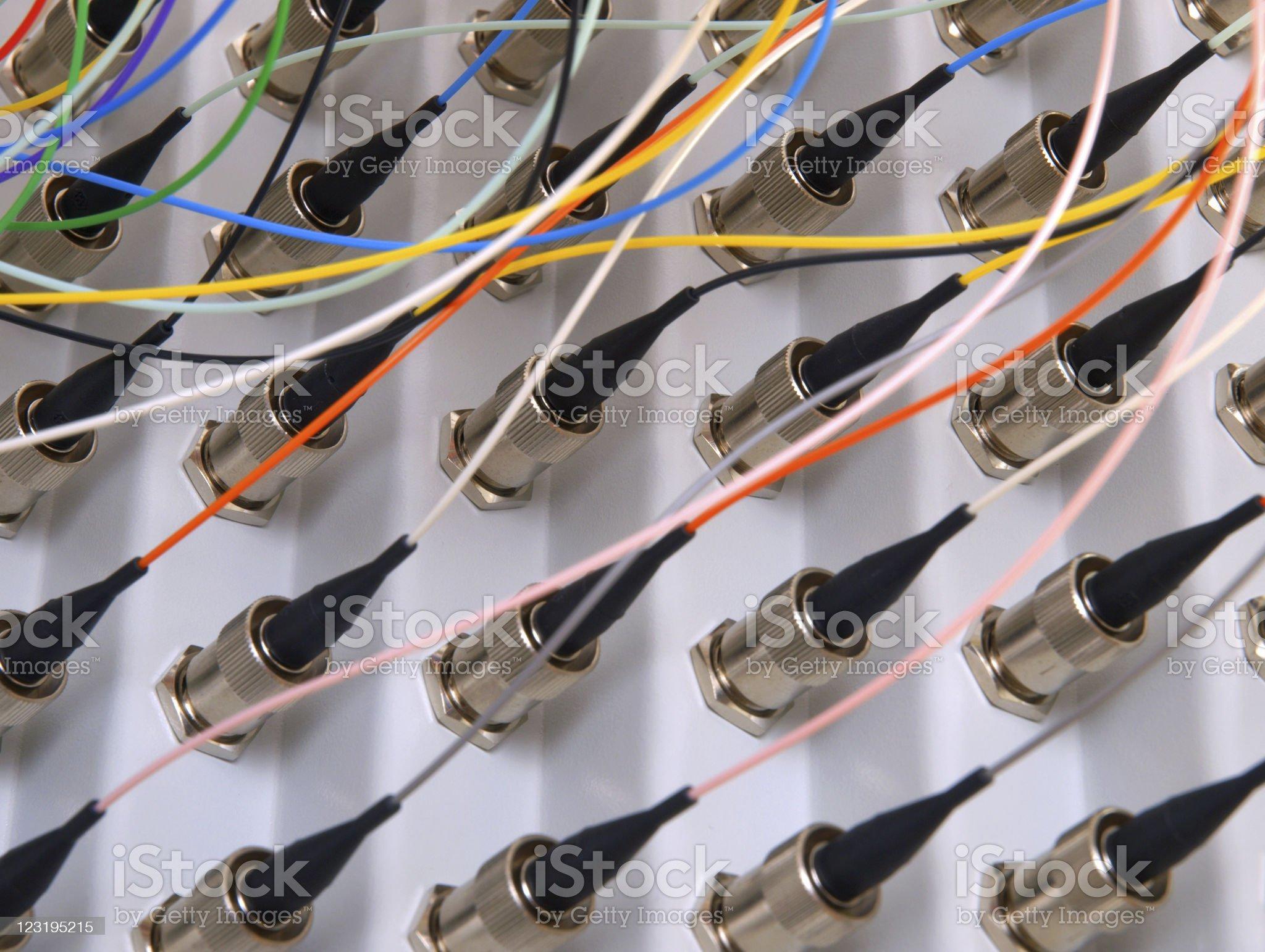 Fiber Optical Network royalty-free stock photo
