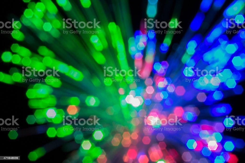 Fiber optical. royalty-free stock photo