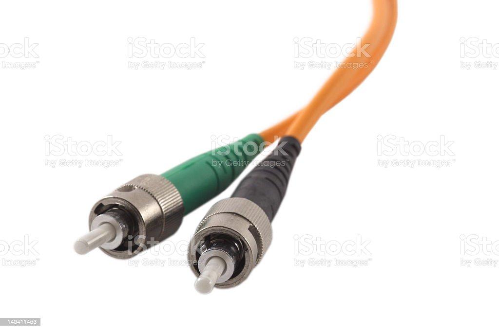 Fiber Optics Connectors stock photo