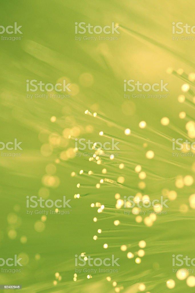 fiber optics lights royalty-free stock photo