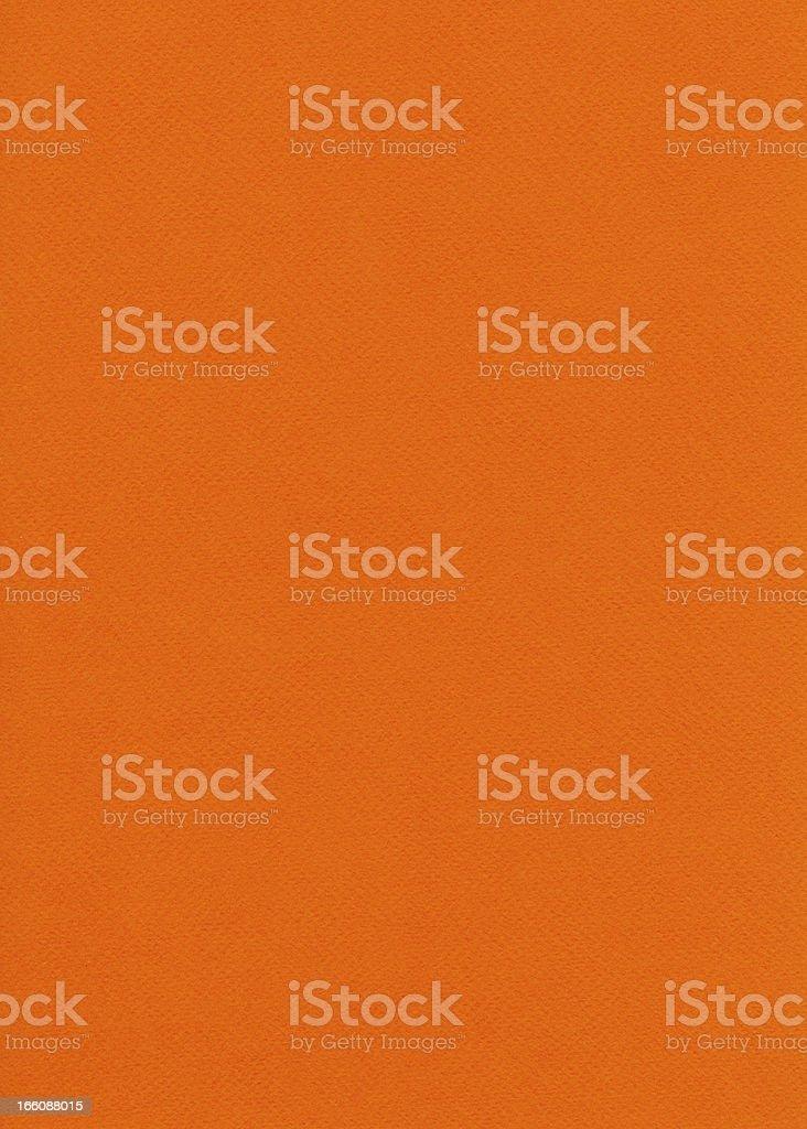 Fiber Paper Texture - Orange XXXXL royalty-free stock photo