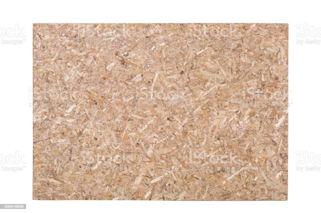 Fiberboard panel surface texture. stock photo