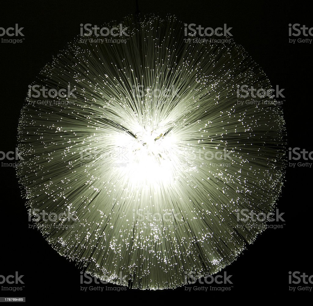 fiberglass lamp stock photo