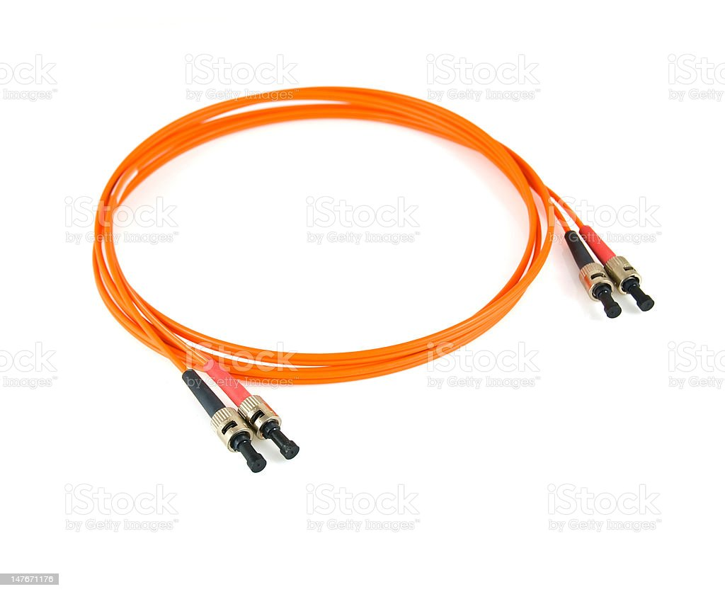 Fibre cable royalty-free stock photo
