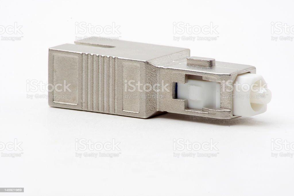 SC-SC Fibre Optic Attenuator stock photo