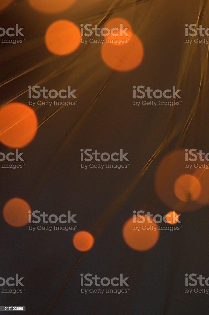 Fibre optic light abstract image stock photo