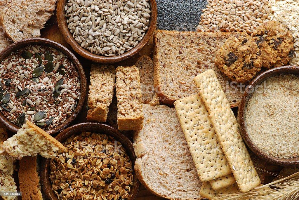 Fibre Rich Food royalty-free stock photo