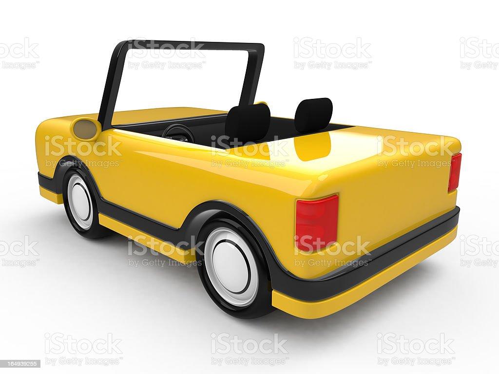 Fictional car royalty-free stock photo