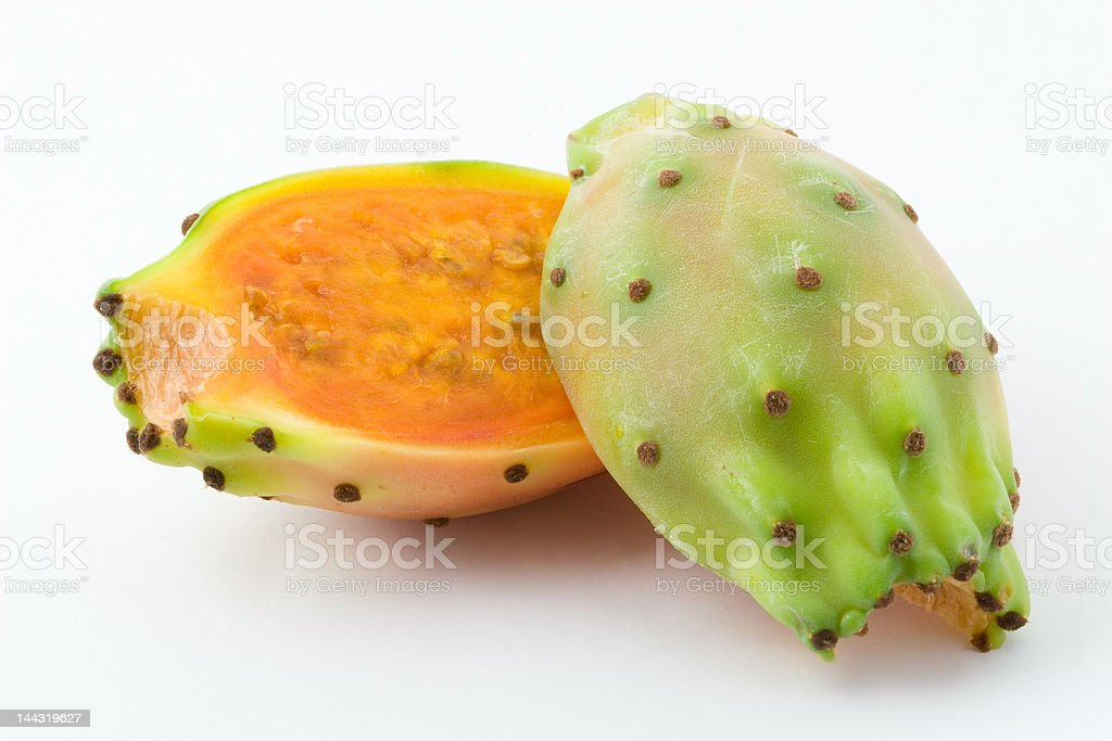 Ficus indica stock photo