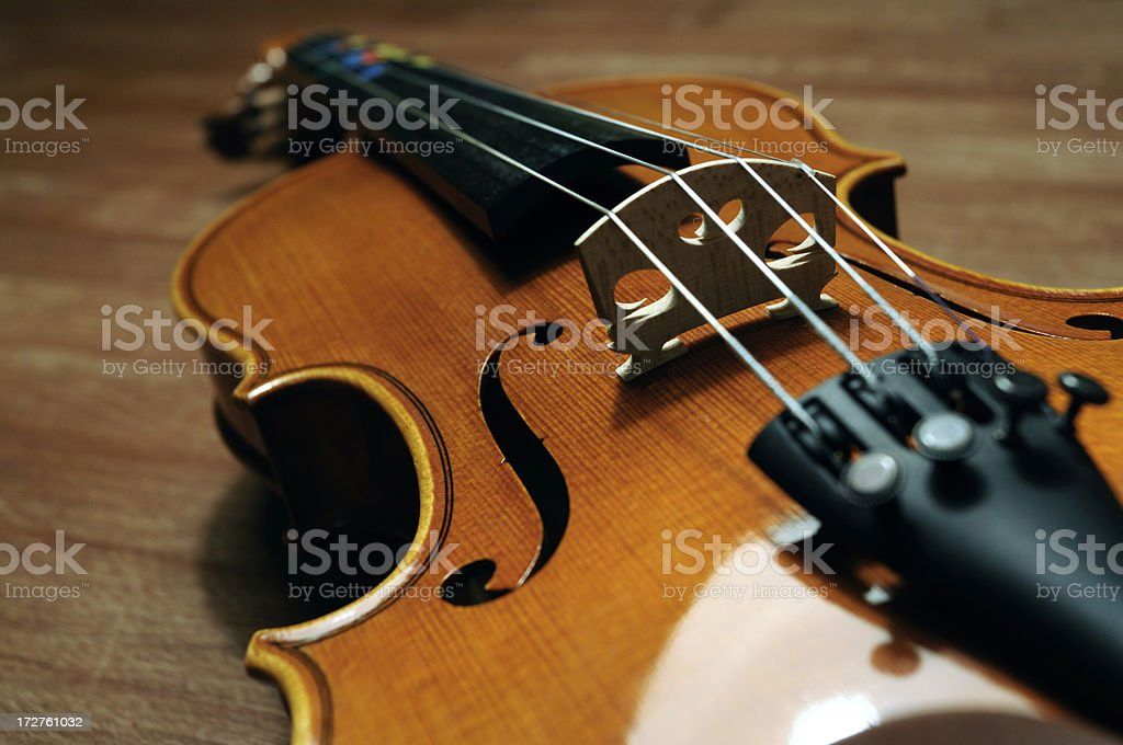 fiddle detail royalty-free stock photo