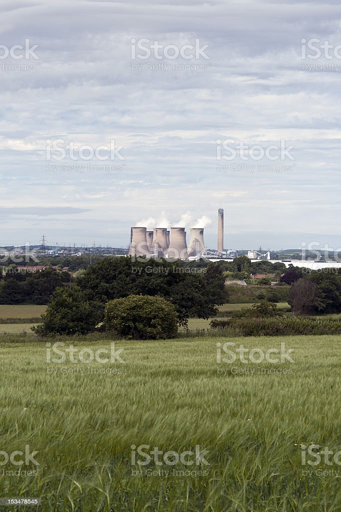Fiddlers Ferry power station, Cheshire royalty-free stock photo