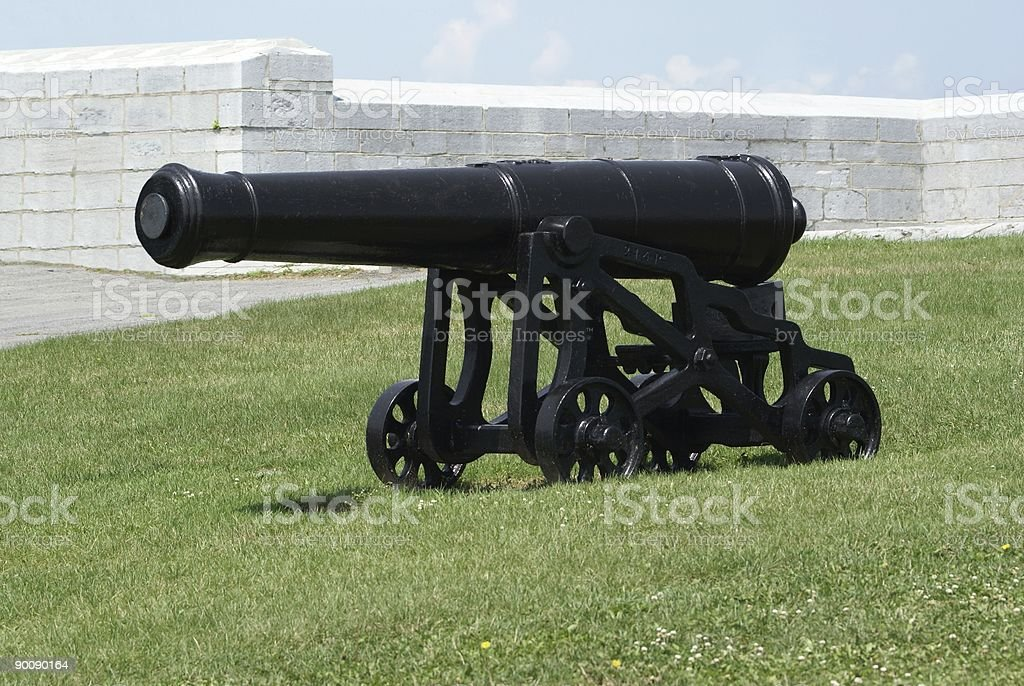 Field Cannon royalty-free stock photo