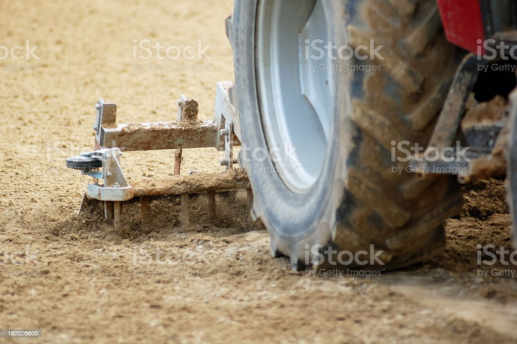 field cultivator royalty-free stock photo
