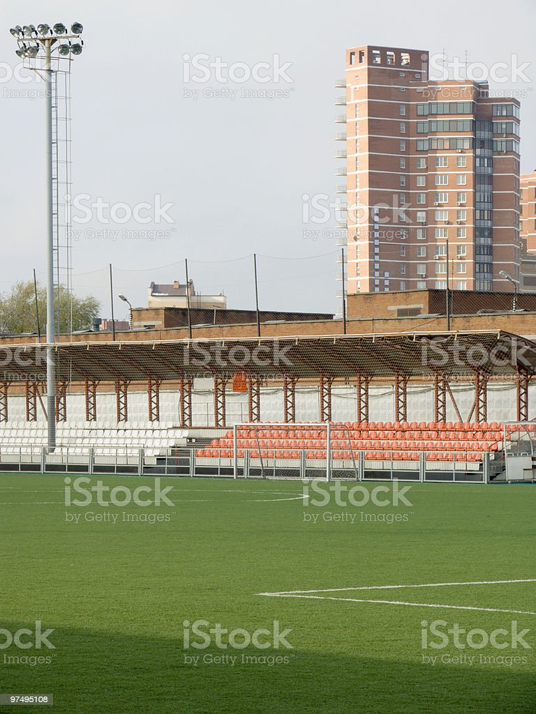 field for soccer stock photo