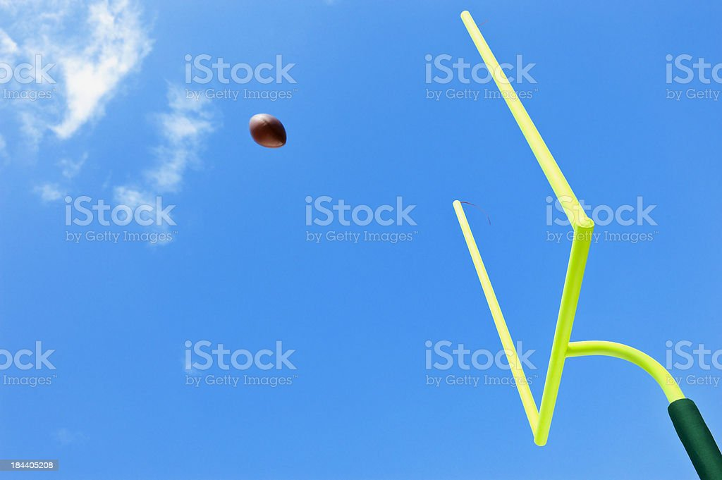 Field Goal - American Football stock photo