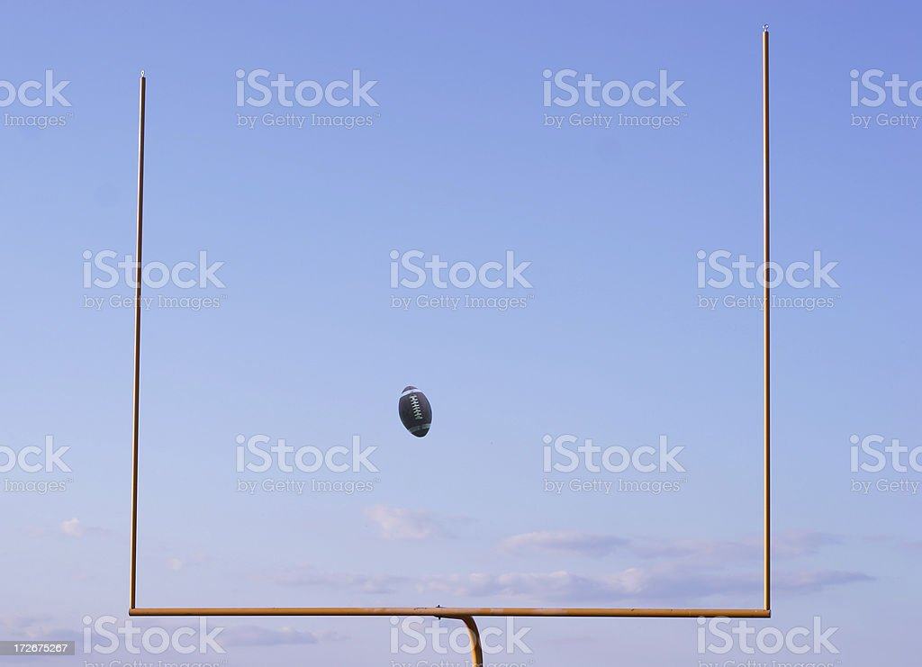 Field Goal royalty-free stock photo