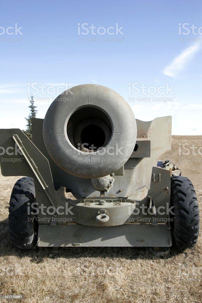 Field Gun stock photo