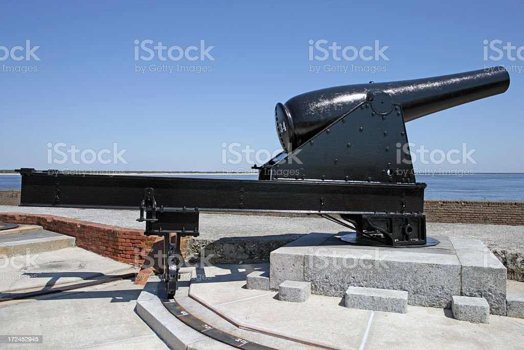 Field Gun stock photo