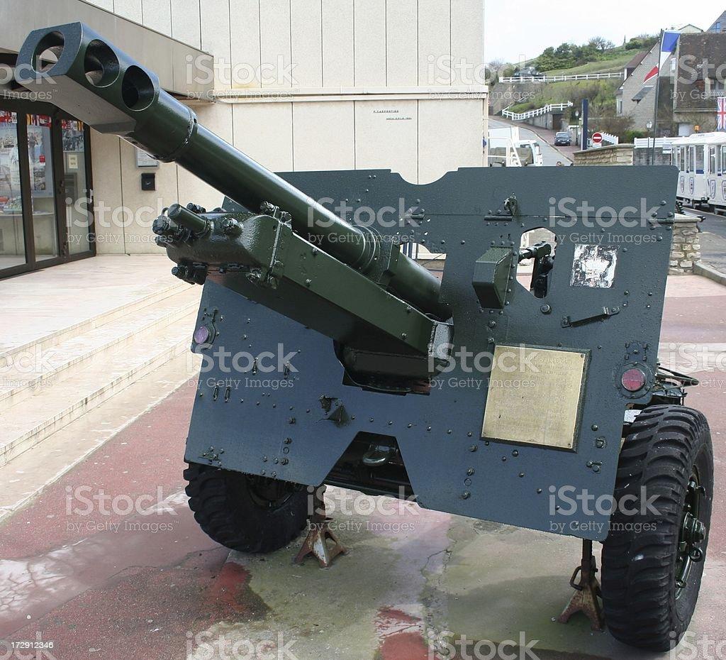 Field Gun royalty-free stock photo