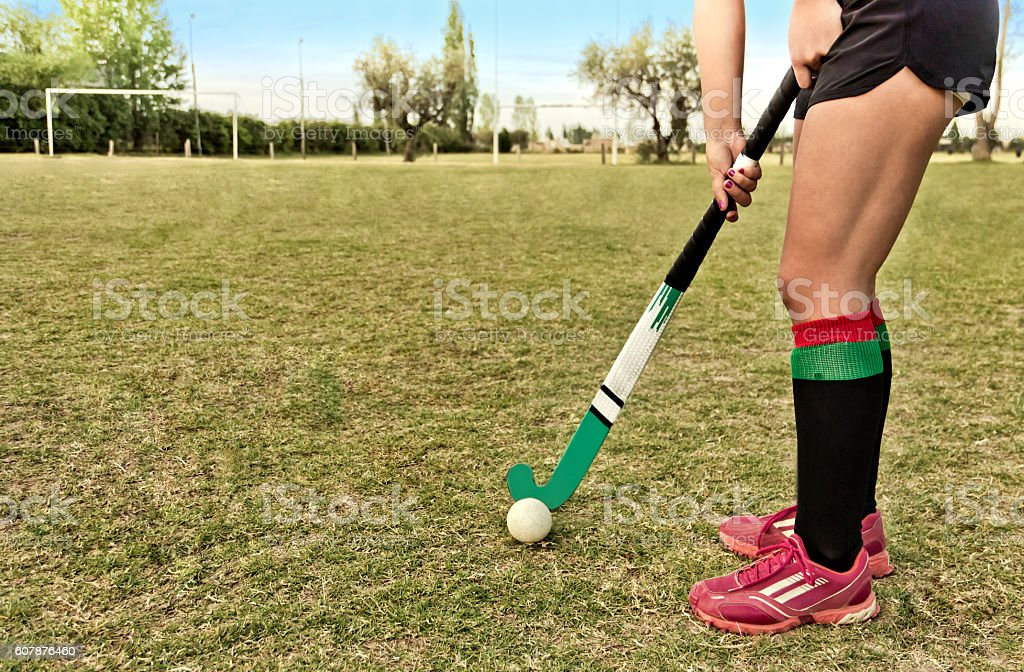 Field hockey stock photo