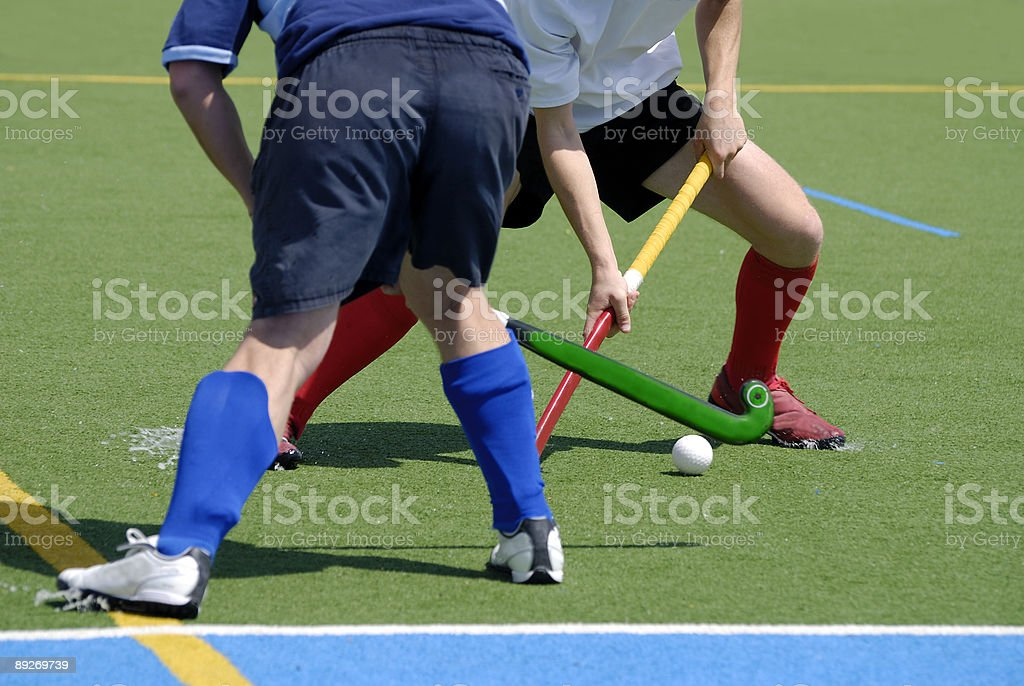 field hockey royalty-free stock photo