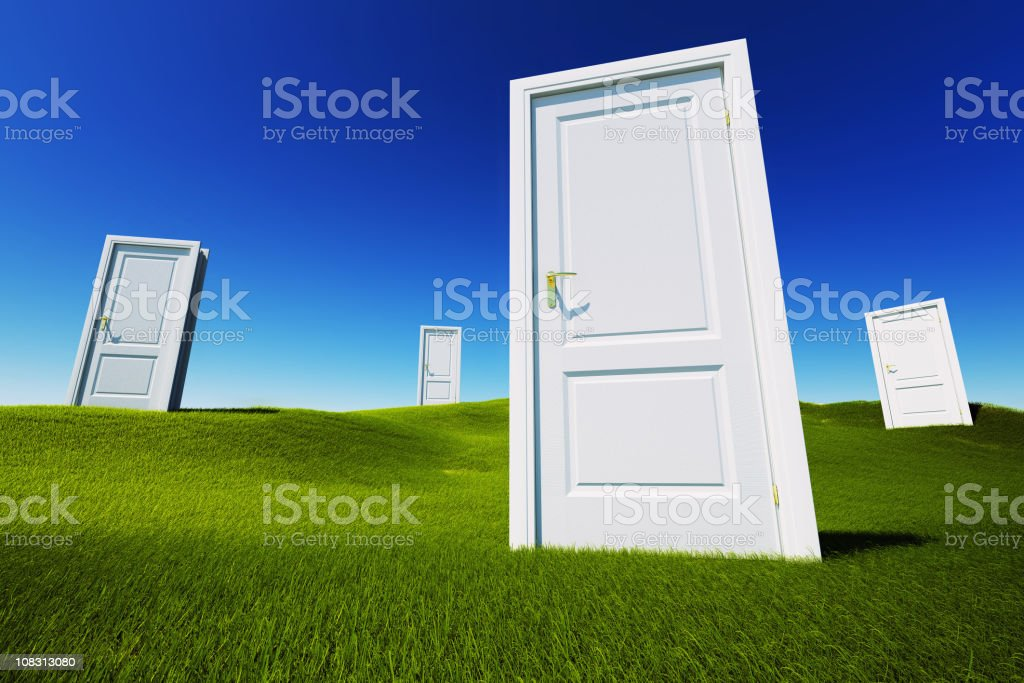 Field of opportunity royalty-free stock photo